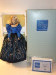 1986 # 01364 FirstBarbie® Porcelain Collection Blue Rhapsody® Barbie® Doll