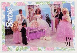 1991 WEDDING DAY MIDGE & ALLEN #292, Trade** CARD**