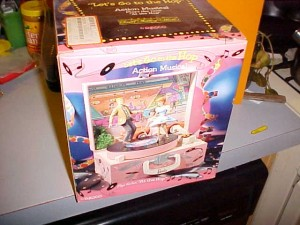 1993 Enesco Barbie & Ken At The Hop Music Box