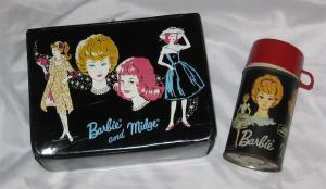 1963 Barbie™ & Midge™ Lunch Box + THERMOS FLASK
