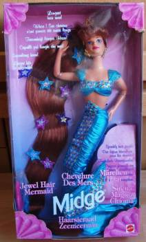 "JEWEL HAIR MERMAID MIDGE"" #14589 EUROPE"