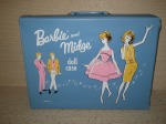 "1963 orginele ""Barbie and Midge Case"""