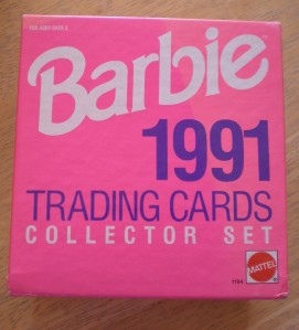 1991 Mattel BARBIE 300 TRADING CARDS COLLECTOR SET NRFB