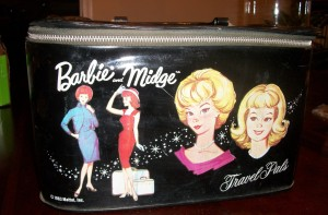 1963 Barbie™ and Midge™ Travel Pals Doll Carrying Case - variation