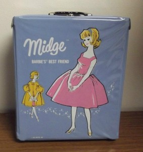 1963 Single Midge™ Case with Midge - Ice blue