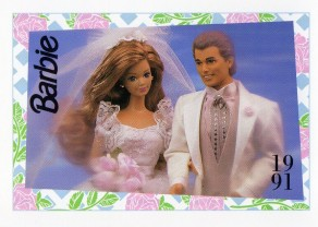 1991 WEDDING DAY MIDGE & ALLEN #291, Trade** CARD**