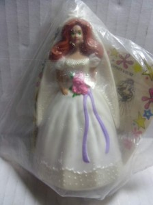 1991 McDONALDS BARBIE #6 ~ WEDDING DAY MIDGE