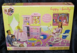 Happy Family NURSERY PLAYSET NRFB