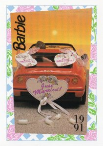 1991 WEDDING DAY MIDGE & ALLEN BARBIE FERRARI #300,1991 Mattel Trade** CARD**