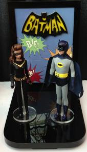 2013 Toy Fair Batman & Catwoman display