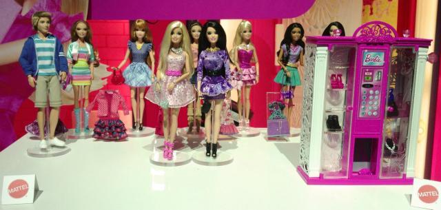 Toy Fair 2013 - New Playline Barbie dolls