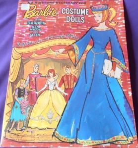 1964 Barbie, Midge and Skipper Paper dolls