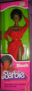 1980 #1293 Black Barbie NRFB