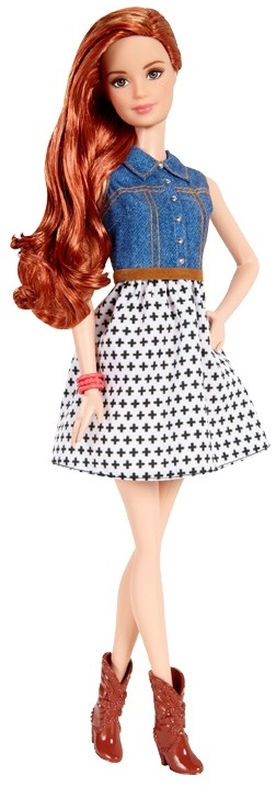 Barbie® Fashionistas® Doll read head