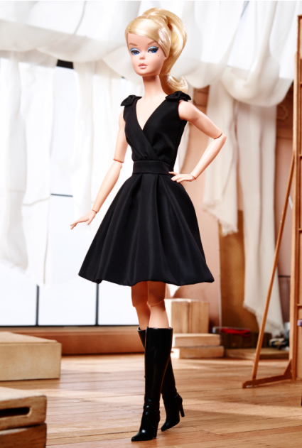 Classic Black Dress Barbie® Doll