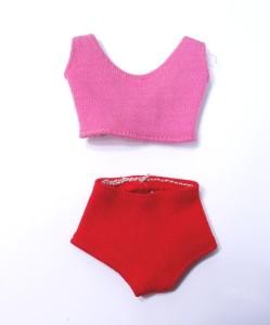 Leg Midge Doll Swimsuit brunette