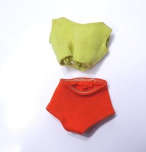 Leg Midge Doll Swimsuit red head