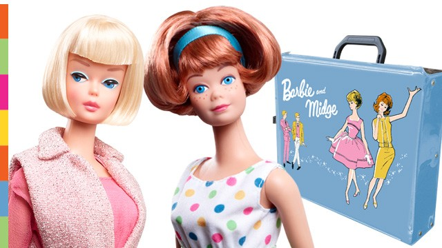 2013 Barbie and Midge 50 years friendship
