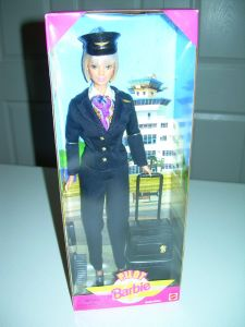 Pilot Barbie Doll #24017 from 1999.