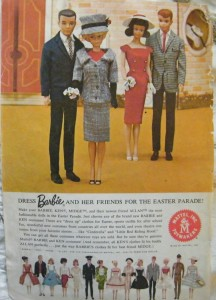 Ad From Mattel 1964