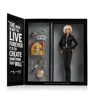 Warhol Barbie inside