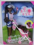 1995 Strollin' Fun Barbie and Kelly AA
