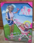 1995 Strollin' Fun Barbie and Kelly