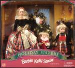 1998 Barbie Holiday Sisters Kelly, Stacie Set