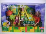 2001 Barbie Stacie & Kelly Let's Camp Gift Set