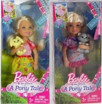 2013 Barbie in a Pony Tale Chelsea Dolls
