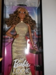 2014 BARBIE LOOK RED CARPET GOLD GOWN DOL