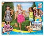 2015 Barbie and Her Sisters in The Great Puppy Adventure – Skipper, Barbie and Stacie Giftset.