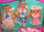 1992 SHARIN' SISTERS-BARBIE-SKIPPER-STACIE-GIFT SET