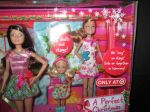 2011 Barbie A Perfect Christmas Holiday Set of 4 Dolls NRFB