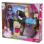 2013 BARBIE™ & Her Sisters in A Pony Tale SKIPPER® Doll & Horse