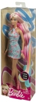 BARBIE® BLONDE-PINK LONG HAIR DOLL NRFB