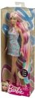 BARBIE® BLONDE-PINK LONG HAIR DOLL NRFB