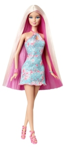 BARBIE® BLONDE-PINK LONG HAIR DOLL