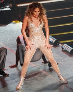 Jlo glitter outfit