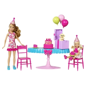 BARBIE® CHELSEA® BIRTHDAY PARTY®! Set Item #: W3210