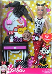 Barbie Loves Minnie Mouse