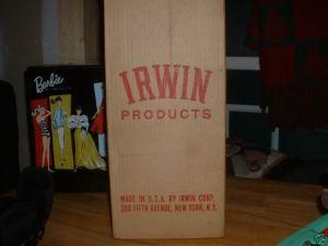 1964 Green Irwin Suzy Goose Boat~Box