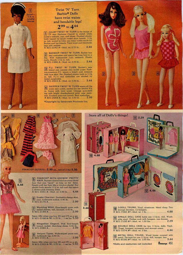 1969 ad Mattel