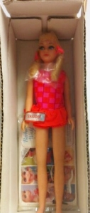 1969 Skipper Twist 'n Turn Doll mail box