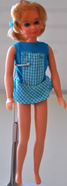 1971 Swing-around Gym-NIB doll