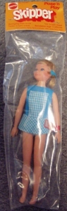 1973 Mod POSE N PLAY SKIPPER BAGGIE NRFP Mint MIP #1117 2