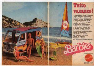 1976 BARBIE in Vacanza con KEN e SKIPPER - Mattel Italy