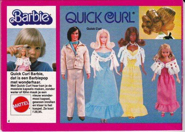 1976 Deluxe Quick Curl Skipper - C1977 Booklet 143 1000 377 Barbie en haar wereld - Neteherlands