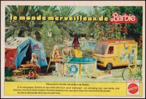 1976 Publicité Mattel BARBIE & SKIPPER - Vintage AD