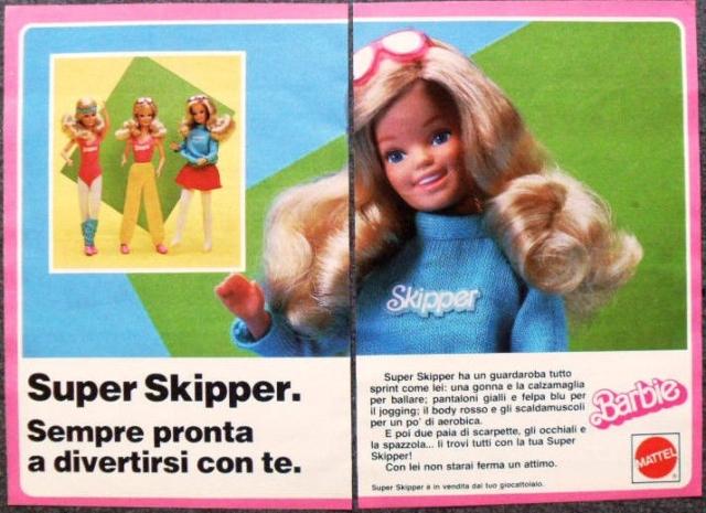 1985 K957-Advertising Pubblicità- MATTEL